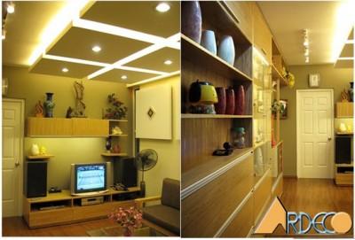 Thiết kế nội thất Phòng 1004 chung cư Bắc Hà Hà Nội