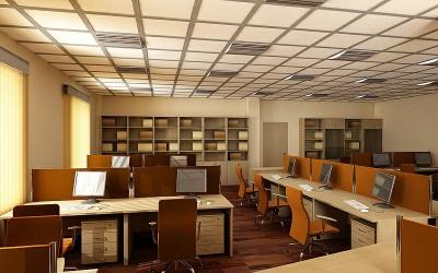 Thiết kế nội thất văn phòng làm việc nhân viên khoa học
