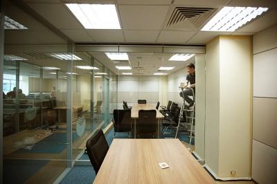Thiết kế nội thất văn phòng quy mô sử dụng lớn
