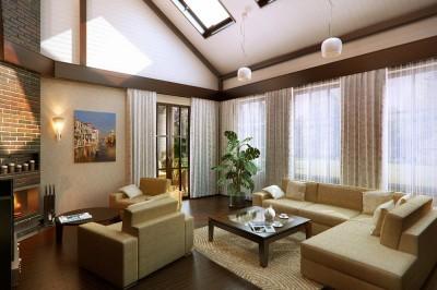 Thiết kế biệt thự đẹp với không gian ấm cúng, sang trọng