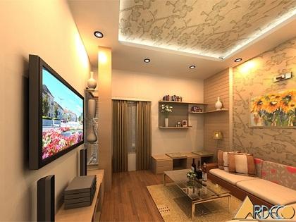 Thiết kế nội thất nhà phố đẹp tiện nghi phong cách hiện đại