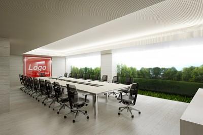 Thiết kế phòng họp thoáng mát gần gũi với thiên nhiên