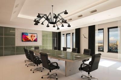 Thiết kế phòng họp tiện nghi không gian thoáng đãng