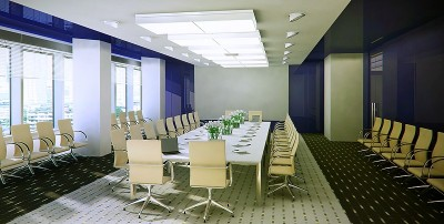 Thiết kế phòng họp mang lại cảm giác thư giãn nhẹ nhàng