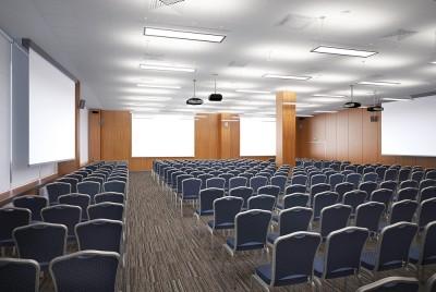Thiết kế nội thất phòng họp theo phong cách đơn giản