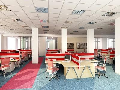 Thiết kế văn phòng làm việc nhân viên khoa học tiện lợi