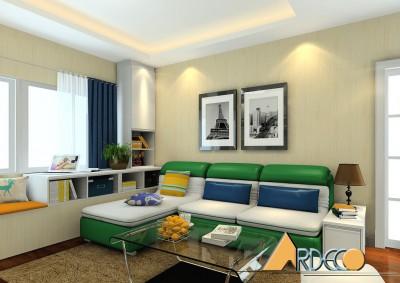 Thiết kế nội thất phòng khách cho chung cư nhỏ