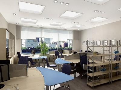Thiết kế nội thất phòng nhân viên thúc đẩy sự sáng tạo