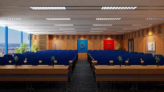 Thiết kế phòng hội trường phong cách cổ điển