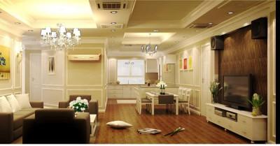Thiết kế nội thất chung cư ấn tượng tại Time City