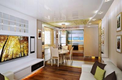 Thiết kế nội thất chung cư với phòng khách mang phong cách hiện đại