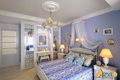 Thiết kế nội thất phòng ngủ ấn tượng tại Goldmark City
