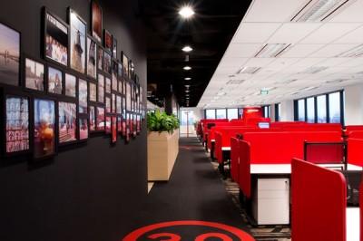 Thiết kế nội thất văn phòng du lịch