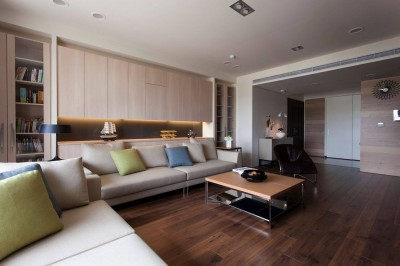 Thi công căn hộ 120m2 phong cách hiện đại