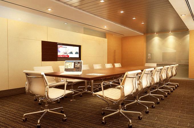 Thiết kế phòng họp đẹp và hiện đại