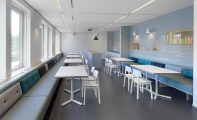 Sử dụng các gam màu pastel trong thiết kế nội thất văn phòng
