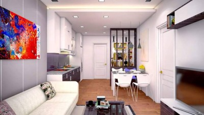 Thiết kế căn hộ chung cư hiện đại tại UNIMAX Hà Đông