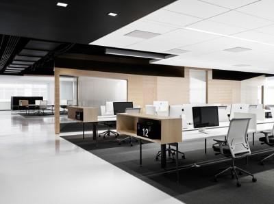 Yếu tố thiết kế giúp tăng năng suất phòng làm việc