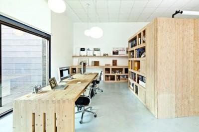 Thiết kế văn phòng làm việc có không gian linh hoạt, sáng tạo