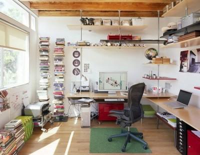Yếu tố quan trọng trong thiết kế văn phòng làm việc tại nhà