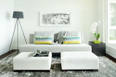 8 mẹo thiết kế phòng khách nhỏ ấm áp