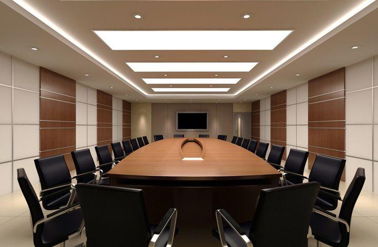 Thiết kế thi công nội thất phòng họp hiện đại