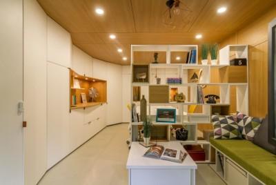 Thiết kế thi công nội thất văn phòng công ty Hesung