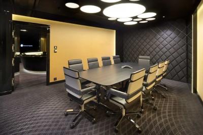 Thiết kế thi công nội thất phòng họp đẹp và sang trọng