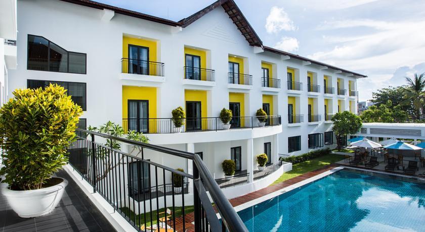 Mẫu thiết kế khách sạn hiện đại