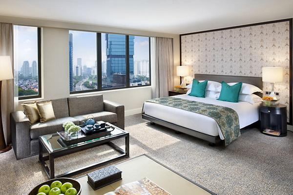 Mẫu thiết kế nội thất phòng ngủ khách sạn