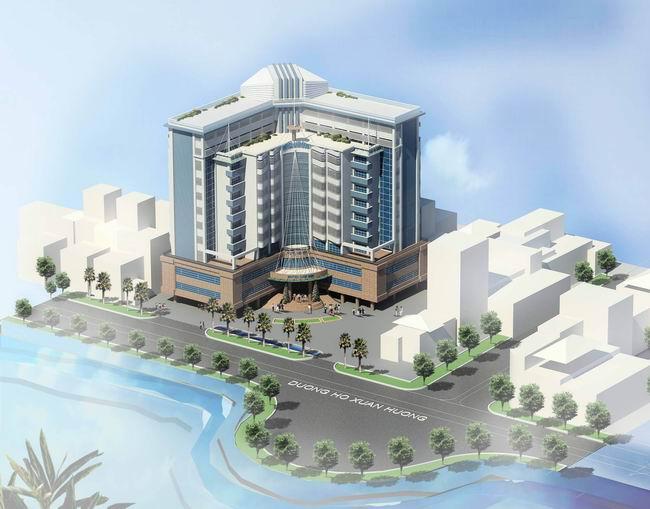 Thiết kế khách sạn Lam Sơn tại Thanh Hóa