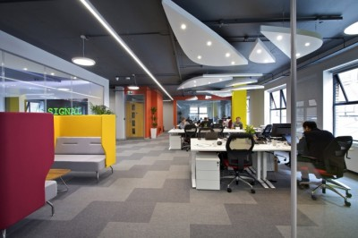Tư vấn thiết kế văn phòng công ty toàn cầu ITC