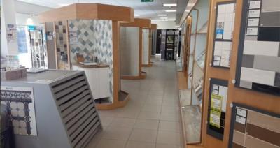 Thiết kế showroom trưng bày gạch men, gạch ốp lát