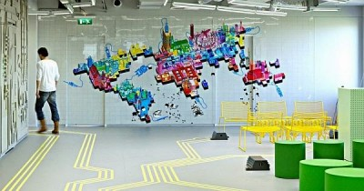 Thiết kế văn phòng công ty trong lĩnh vực công nghệ thông tin