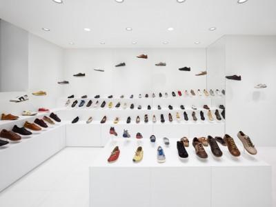 Ý tưởng thiết kế showroom giày độc đáo