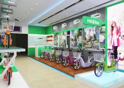 Thiết kế showroom xe đạp điện HKBike quận Đống Đa-Hà Nội