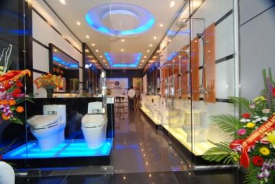 Thiết kế showroom thiết bị vệ sinh của viglacera