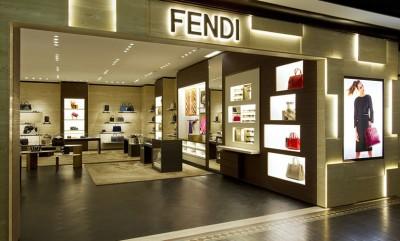 Thiết kế showroom thời trang cao cấp mang thương hiệu Fendi