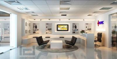 Thiết kế văn phòng hiện đại giúp nhận diện thương hiệu