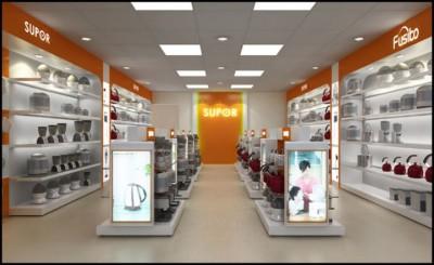 Thiết kế showroom mang phong cách mới hiện đại.