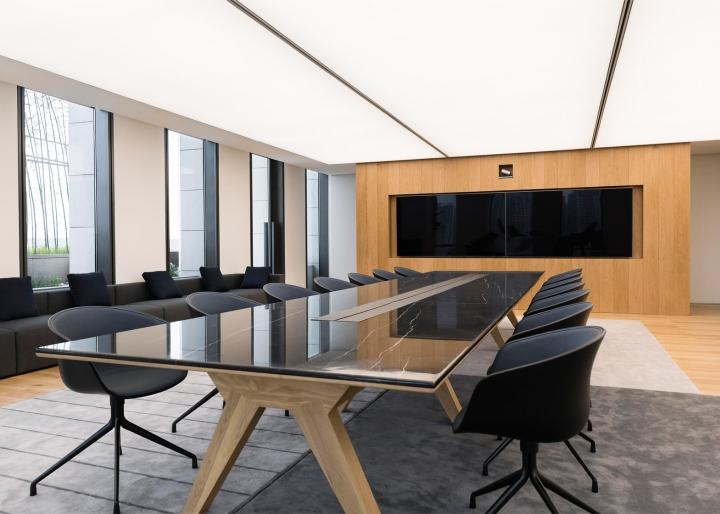 Thiết kế nội thất văn phòng làm việc sang trọng