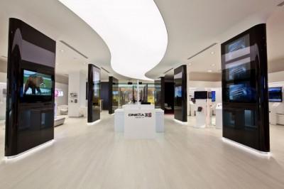 Thiết kế nội thất showroom cửa hàng điện máy