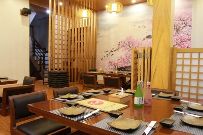 Những yếu tố tạo điểm nhấn trong thiết kế nhà hàng Nhật Bản