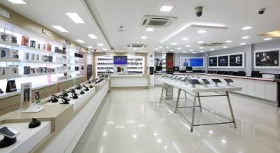 Kinh nghiệm thiết kế cửa hàng điện thoại thu hút khách