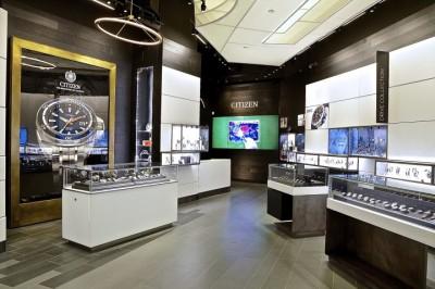 Mẫu thiết kế showroom đồng hồ đẹp