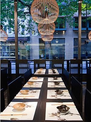 Nội thất nhà hàng Hàn Quốc đậm dấu ấn thu hút