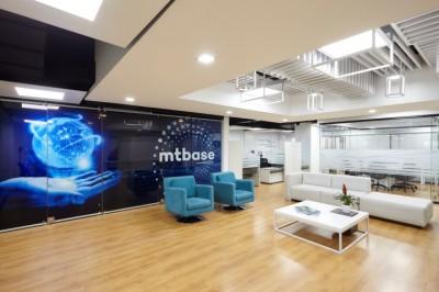 Thi công nội thất văn phòng công ty Mtbase