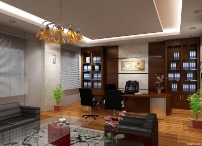 Cách thiết kế nội thất văn phòng cho giám đốc nữ