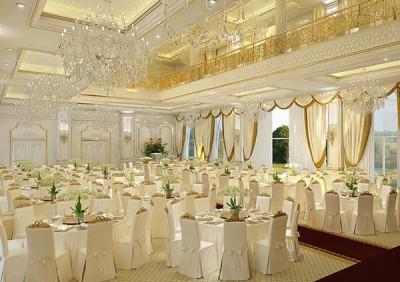 Thiết kế nhà hàng tiệc cưới phong cách Châu âu sang trọng
