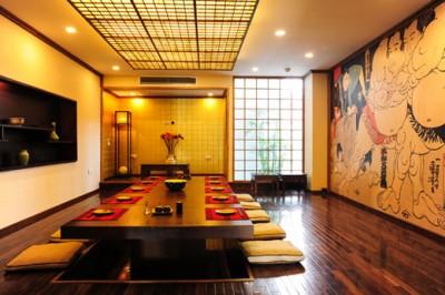 Cách thiết kế nhà hàng kiểu Nhật sang trọng Ardeco